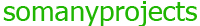 SomanyProjects.com Logo